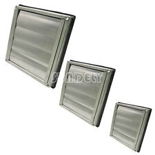 """Stainless Steel Square Air Vent Grill 4"""" 5"""" 6"""" - Extractor - Wall Vent Gravity"""