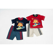 New Baby Boy's 2 piece T-shirt And Canvas Shorts Set  - £4.99 each!