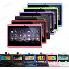 "XGODY 7"" Android 16GB 2 Cam Quad Core HD Colors tablet PC Bundle Keyboard Case"