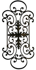 Decorative Wrought Iron Metal Wall Art Wall Hanging - Signature 6197