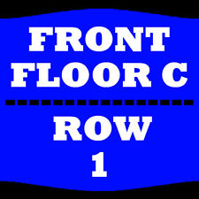 2 TIX RON WHITE 3/24 FLOOR C ROW 1 WILBUR THEATRE BOSTON
