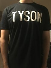MIKE TYSON STYLE !UFC MMA Boxing Muay Thai Gym T Shirt Black FRONT/BACK S-XXL