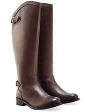 Redfoot Womens Brown Leather Riding Boots UK:5