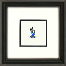 Mickey Mouse Color L Framed Etching LE 500 Sm Paper Signed NEW Disney In-Stock