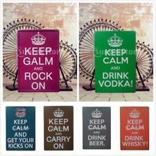 KEEP CALM Series Metal Sign Tin Art Poster Picture Tavern Pub Plaque Wall Decor