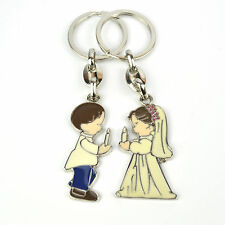 Candle Girl/Boy Christening Baptism Confirmation Holy Communions Charm Keyring