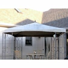 Garden Winds Replacement Canopy for Wrought Iron Scroll Gazebo RipLock 350