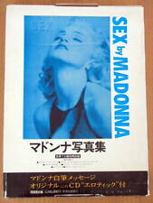 VERY RARE! JAPAN LIMITED Edition SEX Madonna Photo-BOOK Japanese w/comic w/BOXED