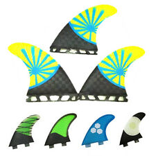 NEW 3 PCS/SET FCS/FUTURE Fins G5 G7 Surf Fins Thruster Surfboard Fins Size M L