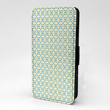 Digital Art Print Design Pattern Flip Case Cover For Apple iPhone - P454