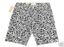 Denim Supply Ralph Lauren Mens 34 Slim White Black Skull Floral Crossbone Shorts