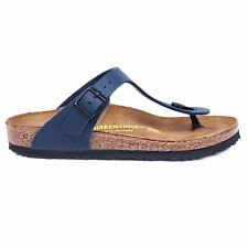 Birkenstock Gizeh Blue Womens Sandals