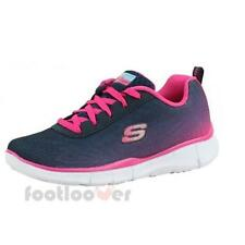 Skechers Equalizer 2765951.4 oz NVHP Navy Hot Pink Trainers Baby Girl girl Moda