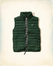 NWT Hollister by A & F Mens Lightweight Puffer Vest Jacket -  Size M