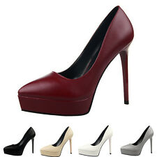 Simple Sexy With Super-High Heels Pointed Shallow Mouth Waterproof Single Shoes