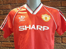 Vintage Very rare Manchester United football shirt 1988. Size Adults.