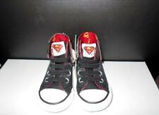 CONVERSE BOYS SUPERMAN LIMITED EDITION HIGH TOPS INFANT SIZE 4 BRAND NEW & BOXED