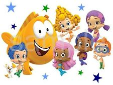 Bubble Guppies Edible Party Cake Image Cupcake Topper Frosting Icing Sheet