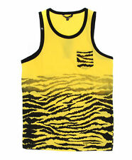 Imperious Men's Animal Print Chest Pocket Tank Top