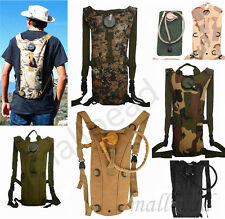 Portable 3L w/Water Bladder Bag Hydration Backpack Packs Hiking Camping Cycling