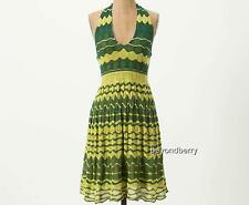 NEW Anthropologie Charlie & Robin Lemon-Lime Sweater Dress  Size XS-M-L