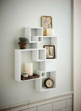 Intersecting Boxes Shelves Decoration Floating Wall Shelf Cube Storage Display