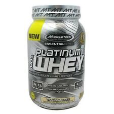 MUSCLETECH: Platinum 100% Whey (2 lbs) Protein. Lean Muscle. BCAA. eBay's Best