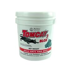 TOMCAT 2 BLOCKS RAT POISON 1.8/ 4/ 8kg Rodent Bait Mouse Blox Tub Ready to Use