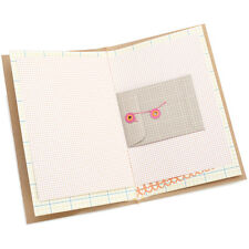 American Crafts Daybook 5-1/2 Inch X 8-1/2 Inch-I Heart You 718813762113