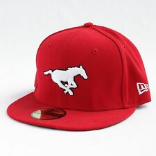 Calgary Stampeders CFL 59FIFTY Basic Logo Fitted Cap