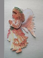 3D-U Pick-AF4 Angel African American Christmas Fall Scrapbook Card Embellishment