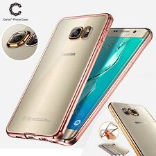 New ShockProof Silicone Rubber Clear Case Cover For Samsung Galaxy Models 1Pcs