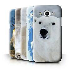 STUFF4 Phone Case/Back Cover for Samsung Galaxy Core Max/G5108Q /Arctic Animals