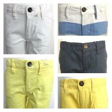 Ex Penguin Boys & Girls 5 colours 100% Cotton Summer Casual Shorts Ages 2-15 Y
