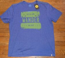 Life is Good T-Shirt NOT ALL WHO WANDER ARE LOST Authentic Men's Tee