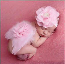 Newborn Baby Toddler Feather Angel Wing Photo Photography Props Baby Shower Gift