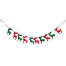 2.8m/110inch Christmas Banner Garland Bunting Wall Décor Decoration Merry Xmas