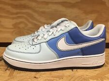 NIKE WOMENS AIR FORCE 1 LOW BLUE WHITE WMNS SZ 9-12  315115-412 L