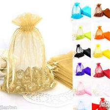 Organza Gift Bag Jewellery Pouches XMAS Wedding Party Candy Bags Decor 18x13cm