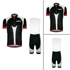 2016 New Mens Team Riding Short Sleeve Cycling Jerseys Bib Shorts Sets Uniforms