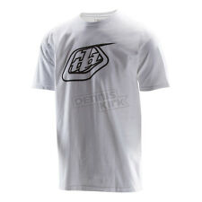 Troy Lee Designs White Logo T-Shirt ( Mens Size: 2XL / XX-Large ) 701200126