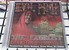 EVIL PIMP - THE EXCORCIST VOL.1 VERY RARE MEMPHIS RAP G-FUNK KRUCIFIX KLAN
