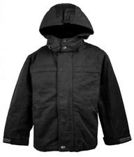 Boys Coat Lined Anorak Quilted Detachable Hood Winter Jacket Kids 5 to 12 Years