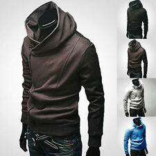 Stylish Creed Hoodie Cool Slim men's Cosplay For Assassins Jacket Costume Coats