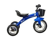 Kiddo Blue 3 Wheeler Smart Design Kids Child Children Trike Tricycle Ride-On Bik