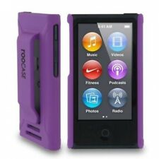 iPod Nano 7 Case - roocase Ultra Slim Fit (Purple) Shell Case Cover for Apple iP