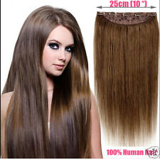 """Hot Sell Charming One Piece 5 clips 100 brazilian Human Hair Extension 18""""100g"""