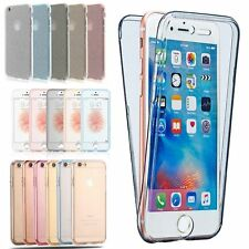 Hybrid Colors Glitter Shockproof 360° Bling Solicone GEL Case Cover For iPhone