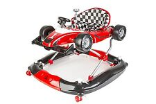 Brit Baby F1 3-in-1 Walker/Rocker and Push Toy (Red). Delivery is Free