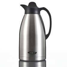 2L Stainless Steel Double Wall insulated Vacuum Flask Thermos Jug Hot Cold Drink